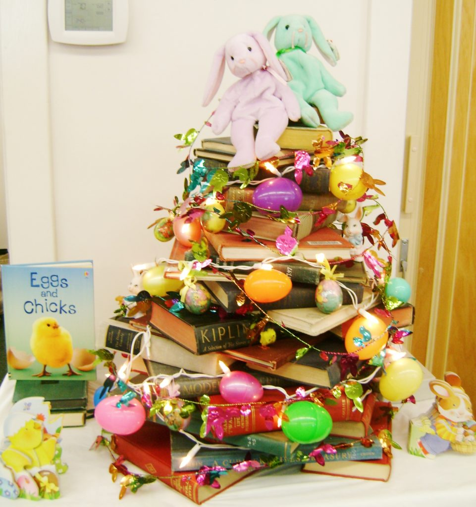 Easter BookTree